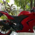 Kawasaki ninja 250 thn 2012 pjk panjang motor bagus