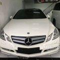 2011 Mercedes-Benz E250 1.8 CGI Sedan - Mercedes Benz Coupe Putih Km20rb Full Orisinil