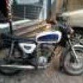 Honda CB 100 / 1974 / Surat Surat Lengkap & Hidup ( Nopol B )