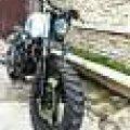 Yamaha Scorpio Modif Scrambler Tracker Japstyle