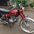CB125 Motor Klasik Honda