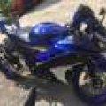 Yamaha R15 Blue Racing Modif R1 2016