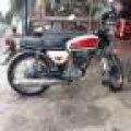 Honda CB 100 / 1974 SS Hidup Repaint Auto Glow / Bonus Ban New