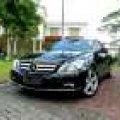 New Mercy Benz E250 Coupe Black On Mocha Seperti Baru !!