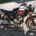 jual motor klasik impian triumph style