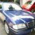 Mercy C 200 Elegance W 202 M/T Blue on Blue Siap Luar Kota