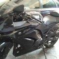 Dijual santai Ninja 250 R Tahun 2011 (karbu) Warna Hitam