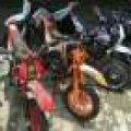 motor mini trail cross Pakai BENSIN