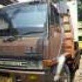 mitsubishi 190 ps 6x2 tronton 10 roda los bak