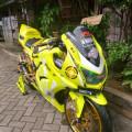 Kawasaki Ninja 250 R (KARBU) Kuning Stabilo 2010
