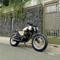 Honda Tiger modif bratstyle  japstyle  caferacer