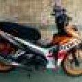 Honda blade repsol 125 th 2015 mulus pjk pjg