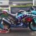 Kawasaki Ninja 250FI ken block, not moge