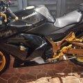 Kawasaki Ninja 250R Karbu 2012 Hitam, Istimewa,Barang Simpanan,Gress