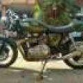 Moge Triumph Thruxton 900 FP, Not W800,BMW,BSA,Harley,Sportster,Binter