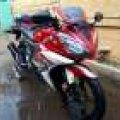 Yamaha R 15 2014 pajak hidup cw dd mesin halus body original full red