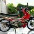 Satria 2 Tak 120S Double Starter, 2002, Km 20 Ribuan, Orisinil, Antik!