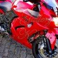Kawasaki Ninja 250R Karburator 2009, Merah Ferrari, Very Excellent