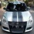 suzuki swift gt mt th 2009 silver metalic km 90rb antik jarang ada