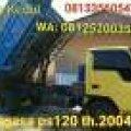 Dump Truck Ragasa ps120 th2004 Siap kerja harga Rp125jt.nego ditempat