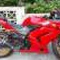 Ninja 250R carbu 2011 merah murmer saja