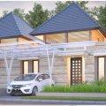 Rumah konsep vila di cimahi cipangeran asri Bandung, Cimahi, Bandung