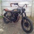 Kawasaki Binter Merzy KZ 200 Caferacer Scrambler Bratbike Flattrak