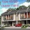 Cluster Fiera Baru 2Lantai Dp Dicicil 15bulan Tangerang Stok Cluster
