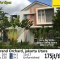 Rumah Siap Huni di Grand Orchard Kelapa Gading, Kelapa Gading, Jakarta Utara