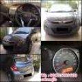 Mobil Hyundai i20 tahun 2010 masih Baguss Km Rendah