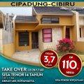 Rumah over kredit 110 juta Cipadung Cibiru, Cibiru, Bandung