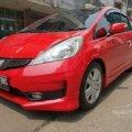 Honda Jazz Rs 1.5 A/T 2012 Merah Mulus Dan Terawat