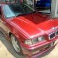 Bmw 320 I M50 2.0 Mt 1995 Merah