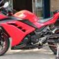 Ninja 250 fi Red 2013 Original Superb Condition km 6000