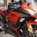 Ninja 250 fi ABS Orange 2014 km Low Superb Istimewa sob !