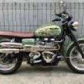 Triumph Boneville Britain Battle T100