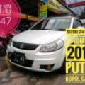 Suzuki SX4 X-over AT 2010 putih bisa brio jazz rs swift yaris trd