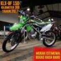 KLX 150 BF 2017 - KM 3rb Murah Istimewa Like New Dennis Mustika motor