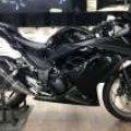 NINJA FI 250cc , th2012 pmakaian 2013, tgn1 , kilometer 13rb ,full ori