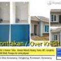 Rumah dikontrakan atau overkredit