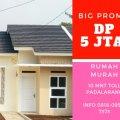 Rumah idaman DP 5jta murah di padalarang bandung barat, Padalarang, Bandung