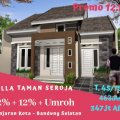 Rumah Nyaman Asri Diskon 25% Taman Seroja, Banjaran, Bandung
