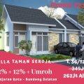 Plus Profit 20%, Rumah Strategis, Taman Seroja, Money Back Garansi, Banjaran, Bandung