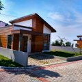Rumah desain semi villa di kawasan sejuk lembang, Lembang, Bandung