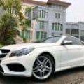 Mercedes-Benz E200 Coupe 2015 Putih Istimewa