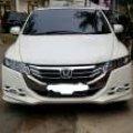 Honda Odyssey 2010 Putih