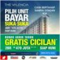 GRATIS CICILAN ! Promo akhir tahun Apartemen Victoria Square