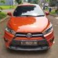 Dijual yaris TRD Sportivo AT 2015 km 17.500 on going tangan pertama