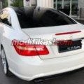 2013 Mercedes-benz E250 Coupe White On Red