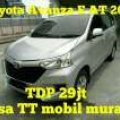 Toyota Avanza E AT 2017. TDP 29jt Angs 3,003jt.